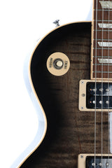 2011 Gibson Les Paul Classic Plus Tran Black Electric Guitar
