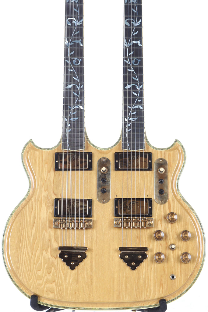 1979 Ibanez Artwood 2670 Double-Neck Twin Electric Guitar -RARE-