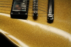 2019 Gibson Custom Shop Les Paul Standard Goldtop Gold Sparkle