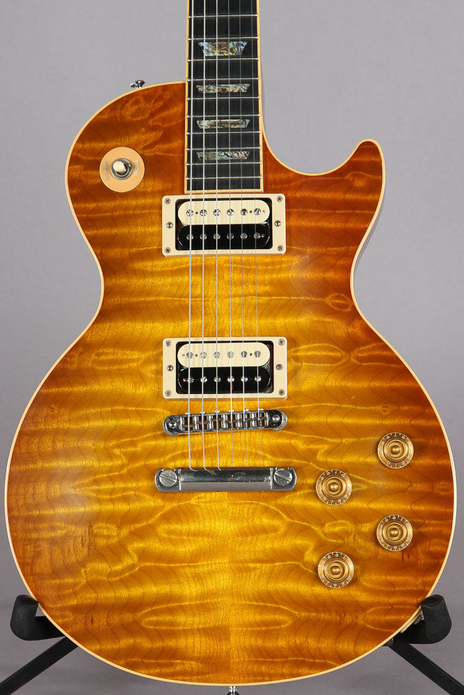2001 Gibson Custom Shop Les Paul Elegant Premium Quilt Top -SLASH PICKUPS-