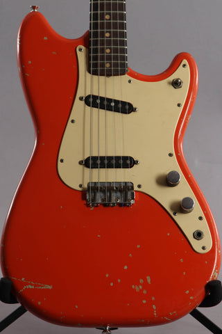 1960 Fender Duo Sonic -Fiesta Red Refin-