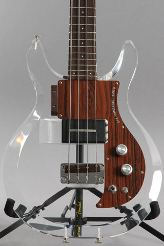 2008 Ampeg ADA4 Dan Armstrong Lucite 4-String Bass Guitar ~Extra Pickup~