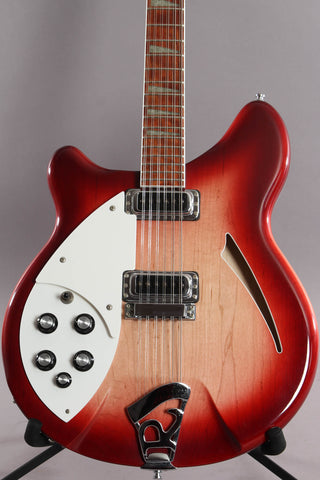 1999 Rickenbacker 360/12 Left Handed 12 String Semi Hollowbody Fireglo Lefty ~Rare~