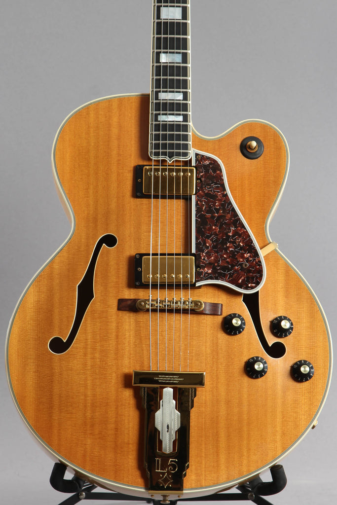 1976 Gibson L5-CES Natural Archtop Guitar ~Factory Stinger~