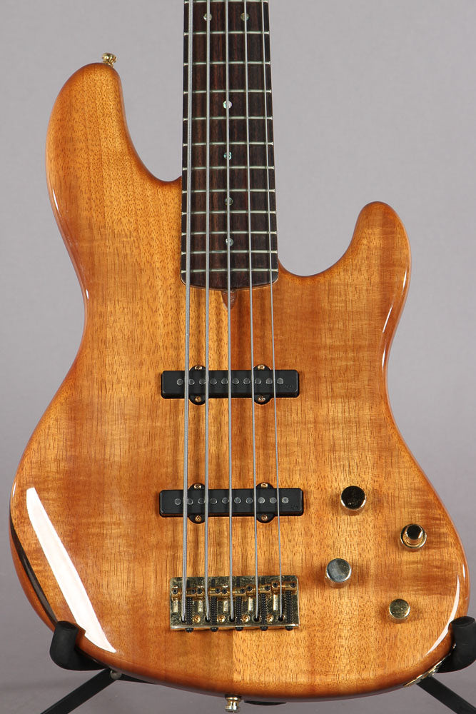 2009 Fender Victor Bailey KOA 5 String Jazz Bass