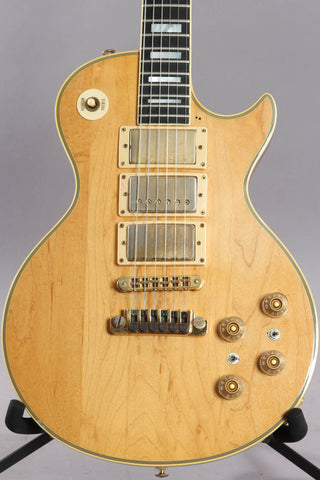 1978 Gibson Les Paul Custom Natural 3-Pickup