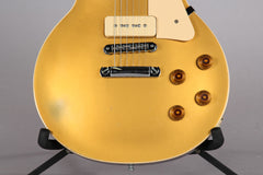 2011 Gibson Les Paul Traditional Pro Gold Top Split Coil P-90s