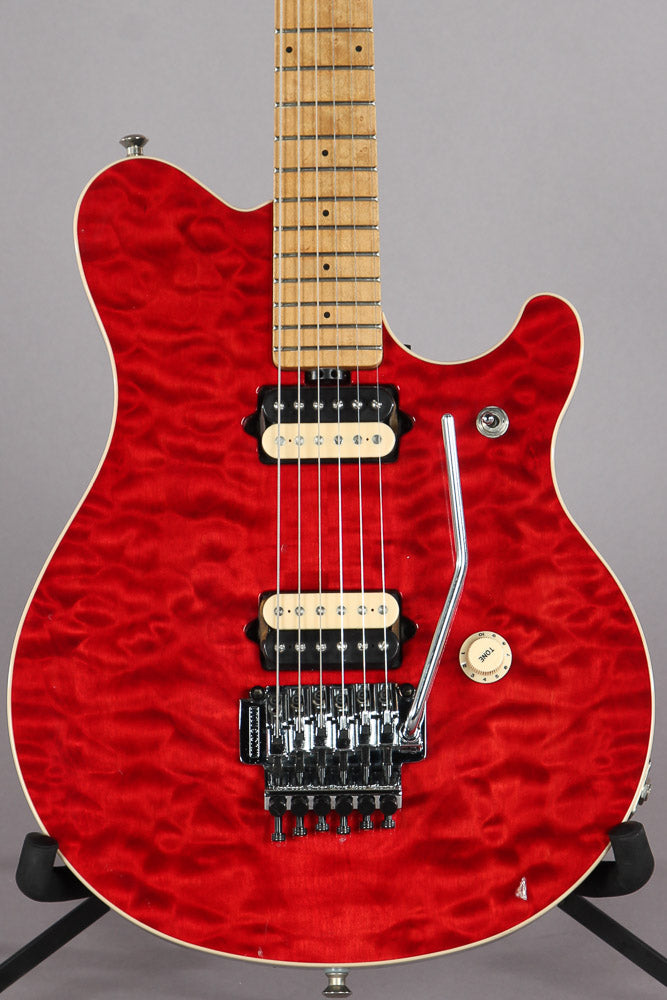 1995 Ernie Ball Music Man EVH Eddie Van Halen Signature Red Quilt
