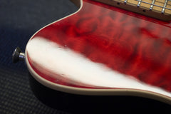 1991 Ernie Ball Music Man EVH Eddie Van Halen Signature Red Quilt