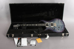 2018 Left Handed PRS Paul Reed Smith Custom 24 Violet Blue Burst 10 Top