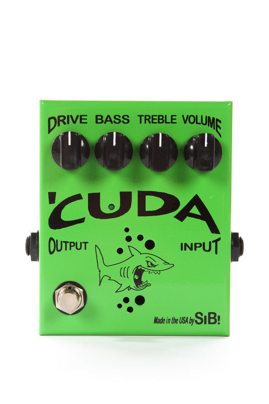 SiB Cuda 12AX7 Tube Class A Overdrive Guitar Effects Pedal