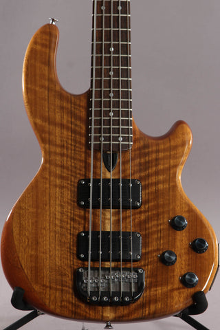 1990 Wal Mk2 Mark 2 5-String Bass Guitar ~Shedua Facings~