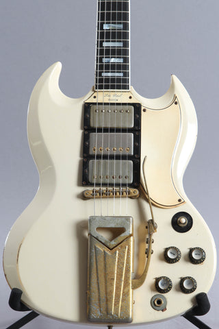 1961 Gibson Les Paul Sg Custom White