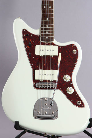 2014 Fender American Vintage 1965 Reissue Jazzmaster Olympic White '65 AVRI -Matching Headstock-