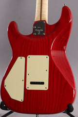 1996 Fender Custom Shop Carved Top Stratocaster Translucent Red ~Serial Number 0011~