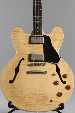 2001 Gibson ES-335 Dot Reissue Natural Flame Top