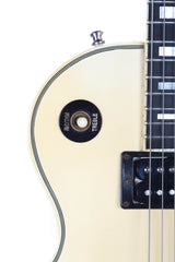 1986 Gibson Les Paul Custom Alpine White Electric Guitar