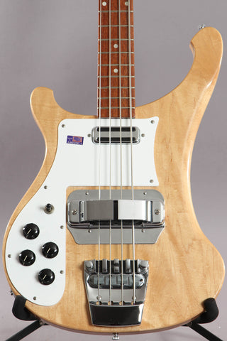 2001 Left-handed Rickenbacker 4001v63 Maplglo Bass Guitar