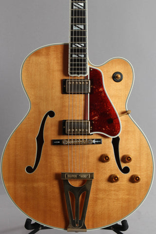 2015 Gibson Custom Shop Super 400 Archtop Natural