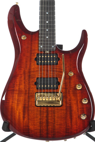 2015 Ernie Ball Music Man Family Reserve John Petrucci BFR 6 KOA -GOLD HARDWARE-