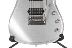 2014 Ernie Ball Music Man Family Reserve John Petrucci BFR 7 String JP13 Platinum Silver -SUPER CLEAN-