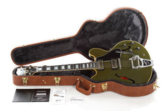 2015 Gibson Custom Shop Limited Edition ES-355 VOS Olive Drab Green
