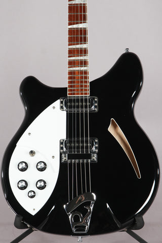 2014 Rickenbacker 360 Left Handed Jetglo Semi-Hollowbody Lefty