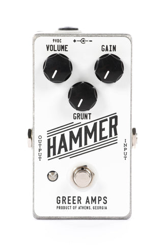 Greer Amps Hammer Distortion Fuzz