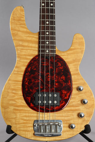 1996 Ernie Ball Musicman 20th Anniversary Stingray Quilt Top ~Video Of Guitar~