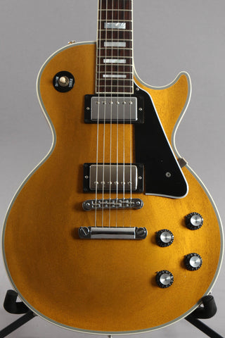 2015 Gibson Custom Shop Les Paul Custom M TV Gold ~Mahogany Top~