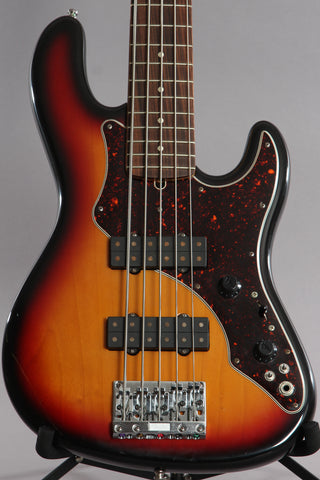 1996 Fender Roscoe Beck V 5 String Bass Guitar
