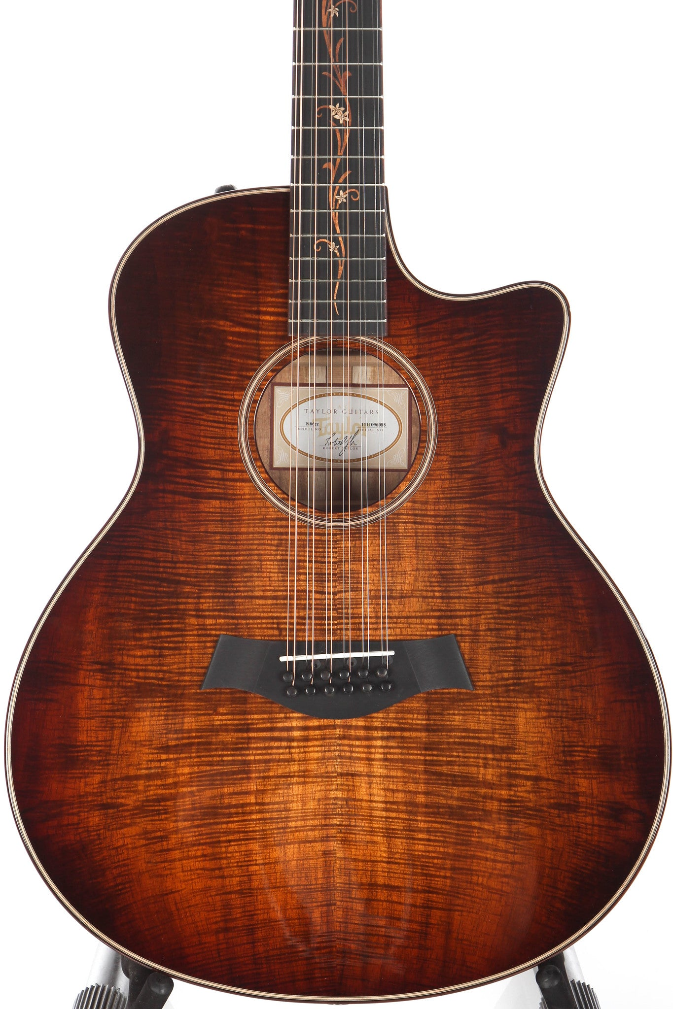 2016 taylor k66ce grand symphony 12 string koa acoustic electric guita guitar chimp. Black Bedroom Furniture Sets. Home Design Ideas