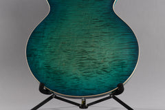 2018 Gibson Memphis ES-335 Figured Aquamarine ~Video Of Guitar~