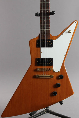 2010 Gibson '76 Reissue Explorer Natural
