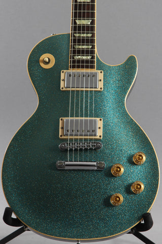 2000 Gibson Limited Edition Millennium Les Paul Blue Frost Metallic Sparkle