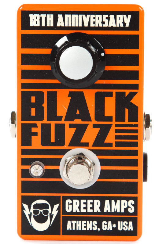 Greer Amps 18th Anniversary Black Fuzz