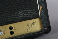 1981 Marshall JCM 800 2204 50 Watt Tube Head -VERTICAL INPUTS & ROAD CASE-