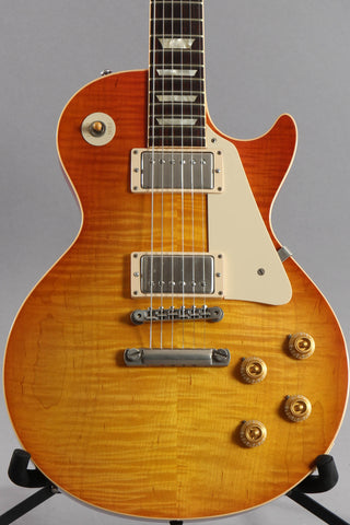 2010 Custom Shop Les Paul '58 Historic Reissue Figured Ice Tea