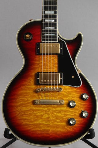 2006 Gibson Custom Shop '68 Reissue Les Paul Custom Tri Burst Quilt