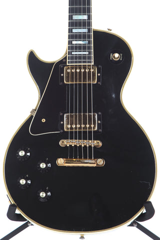 1973 Gibson Les Paul Custom Left Handed Lefty Black Beauty -RARE-