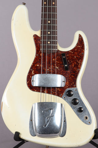2005 Fender Custom Shop '64 Relic Jazz Bass 1964 Reissue Olympic White