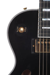 2015 Gibson ES Les Paul Custom Black Beauty Ebony
