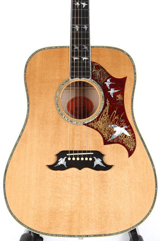 2012 Gibson Custom Shop Doves In Flight Acoustic Guitar