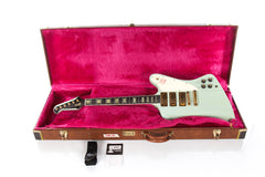 1991 Gibson Custom Shop Firebird VII Frost Blue Sea Foam Green -SUPER CLEAN-