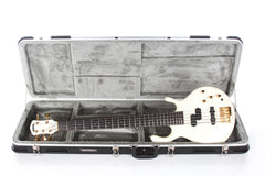 1990 Pedulla MVP-5 5 String Bass Guitar White Neck Thru