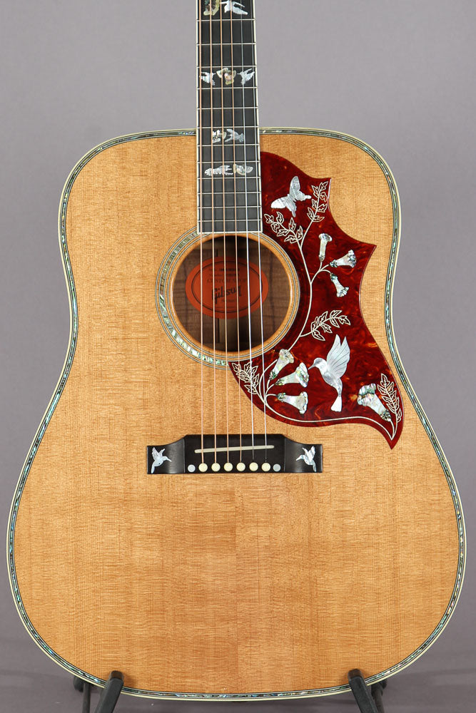 2011 Gibson Custom Shop Hummingbird Birds In Flight Custom KOA Acoustic Electric