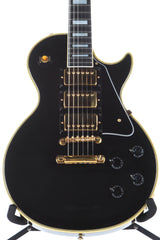1989 Gibson Les Paul Custom 35th Anniversary Black Beauty 3 Pickup Electric Guitar