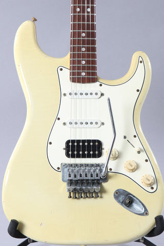 1999 Fender Custom Shop Floyd Rose Cunetto Relic Stratocaster Olympic White ~John Cruz~