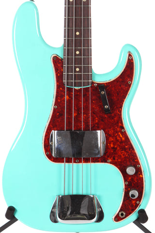 1966 Fender P Precision Sea Foam Green -REFIN-