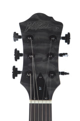 BC Rich Mockingbird STQ Satin Black Wash Quilted Maple